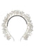Baby's Breath Royal Headband - Silver Pearl - PROJECT 6, modest fashion