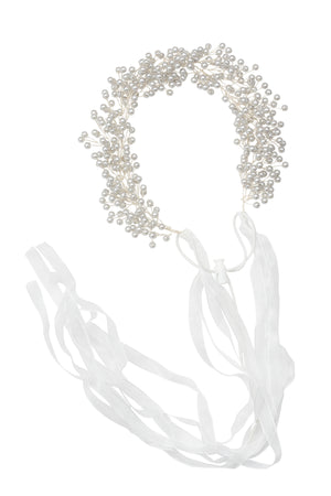 Clustered Wreath - Silver Pearl - PROJECT 6, modest fashion