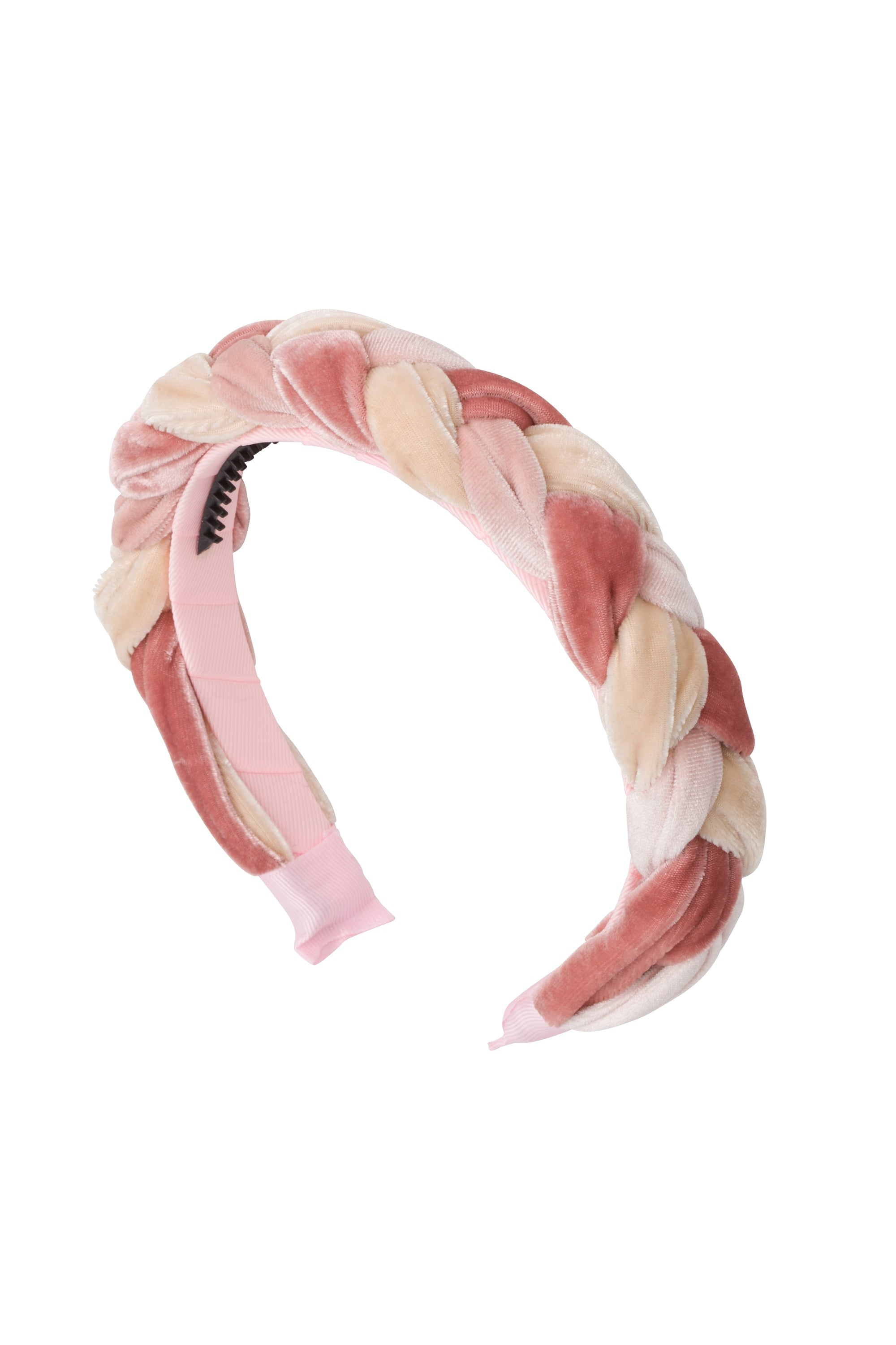 Coronation Day Headband - Ivory/Rose/Blush Combo - PROJECT 6, modest fashion