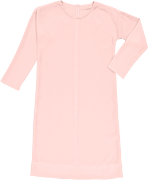 DALES - Blush French Crepe - PROJECT 6, modest fashion