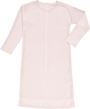 DALES - Powder Pink French Crepe - PROJECT 6, modest fashion