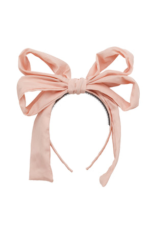 Double Party Bow Headband - Blush - PROJECT 6, modest fashion