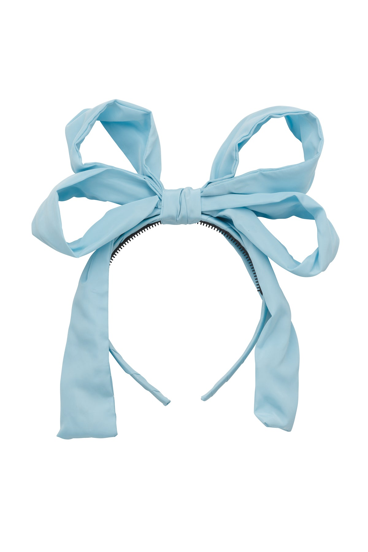 Double Party Bow Headband - Light Sky - PROJECT 6, modest fashion
