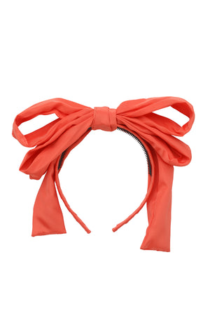 Double Party Bow Headband - Melon - PROJECT 6, modest fashion