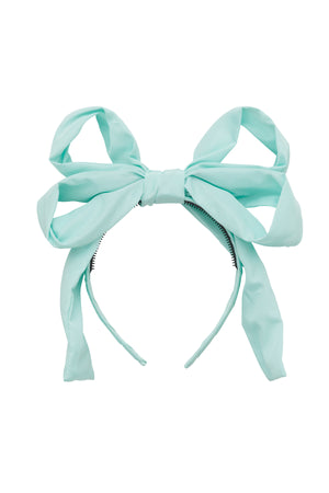 Double Party Bow Headband - Mint - PROJECT 6, modest fashion