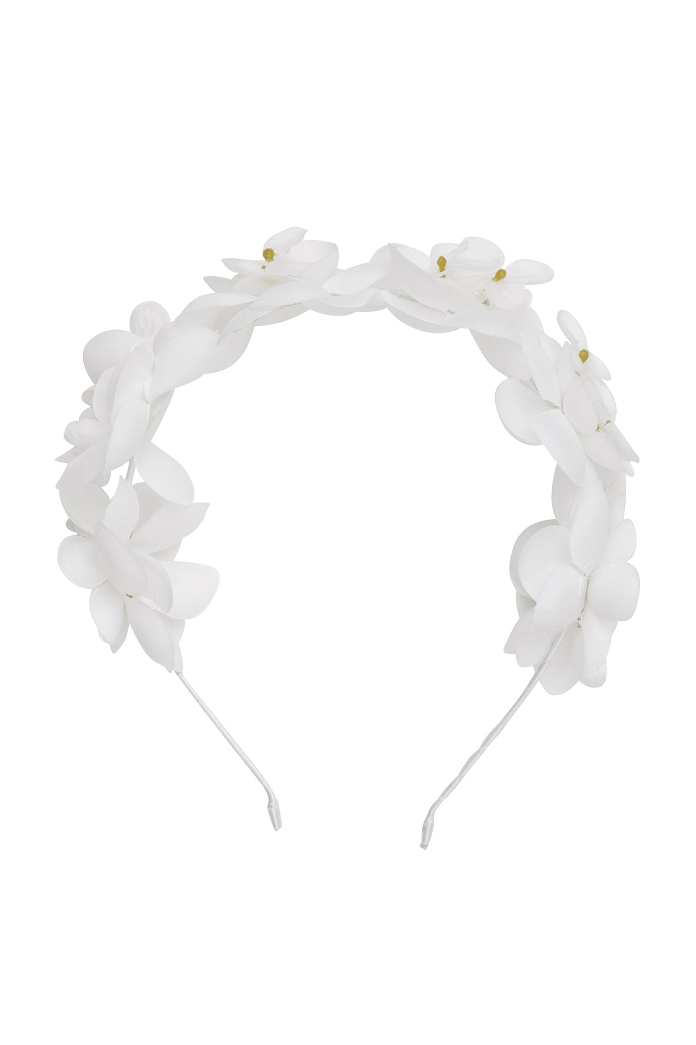 Floral Crown - White - PROJECT 6, modest fashion
