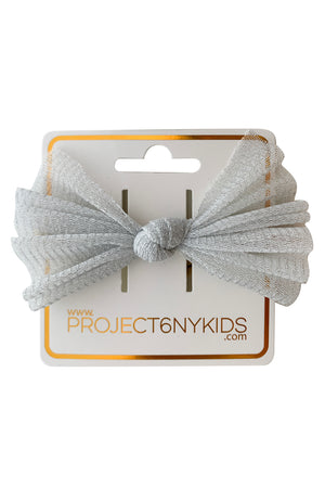 Fairy Bow Wrap - Silver - PROJECT 6, modest fashion