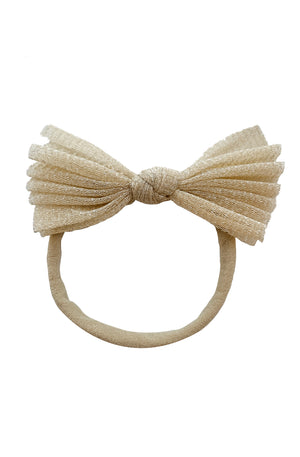 Fairy Bow Wrap - Light Gold - PROJECT 6, modest fashion