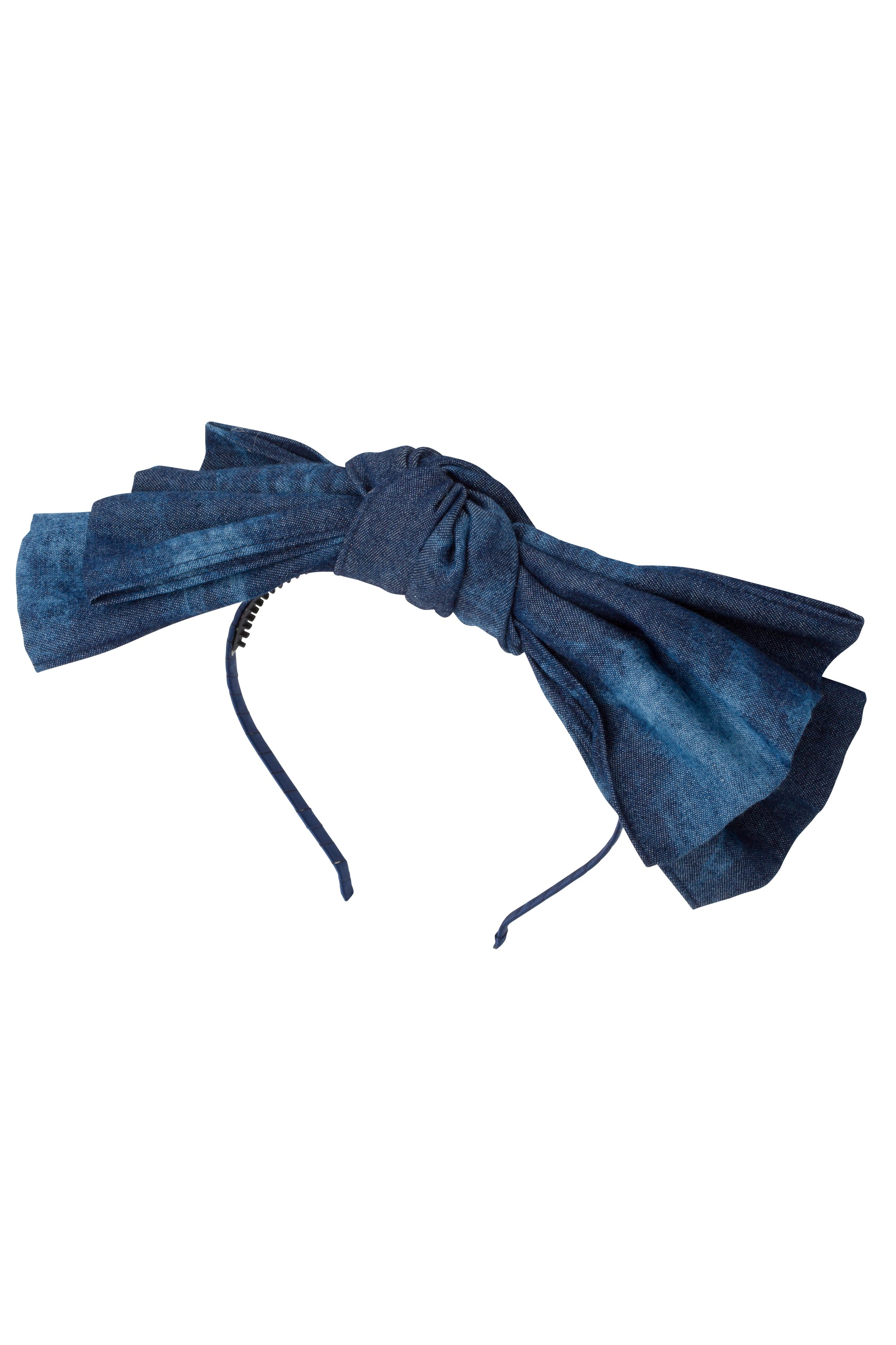Floppy Denim Headband - Invisible Tye Dye - PROJECT 6, modest fashion