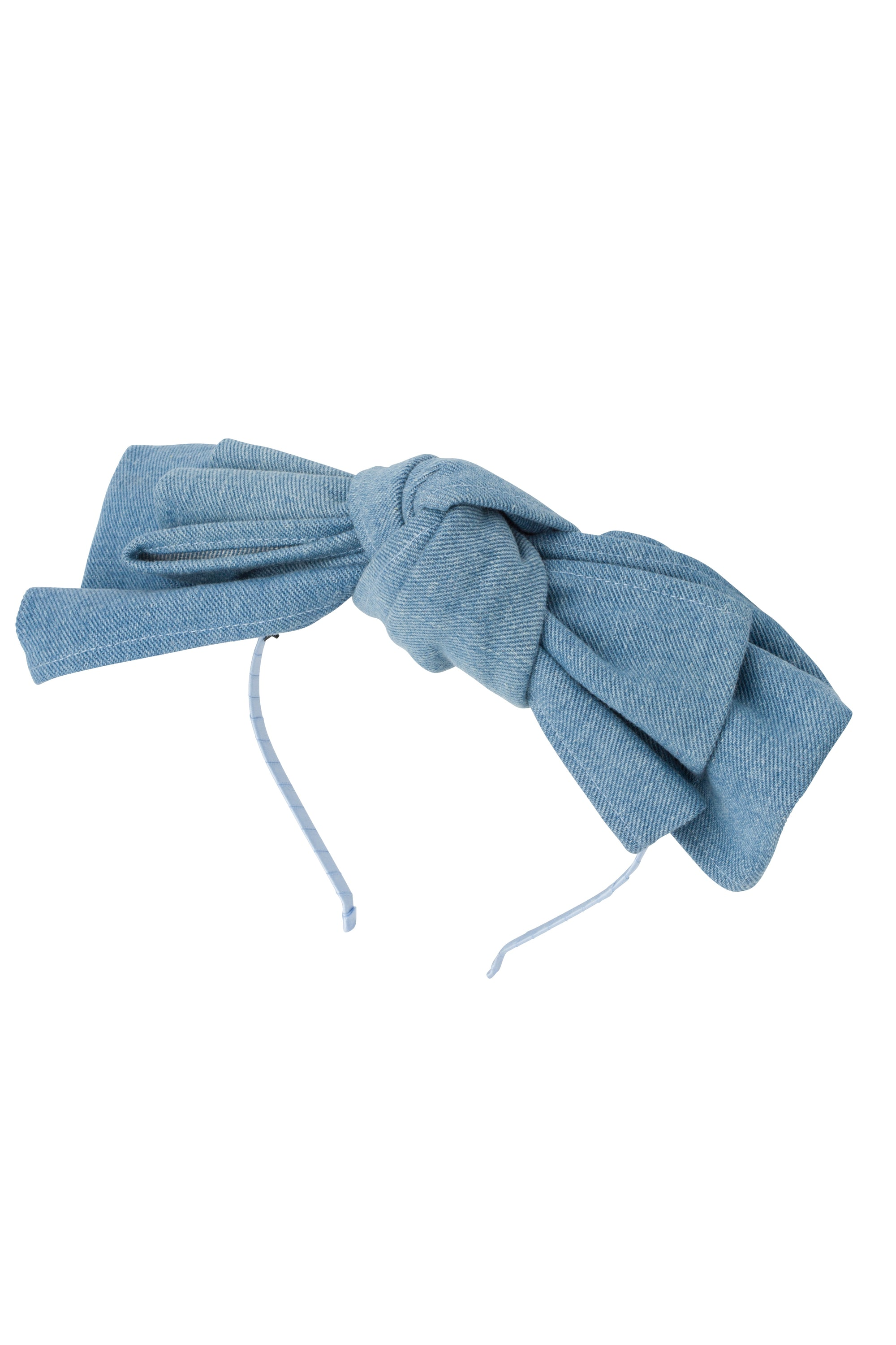 Floppy Denim Headband - Sky Blue Denim - PROJECT 6, modest fashion