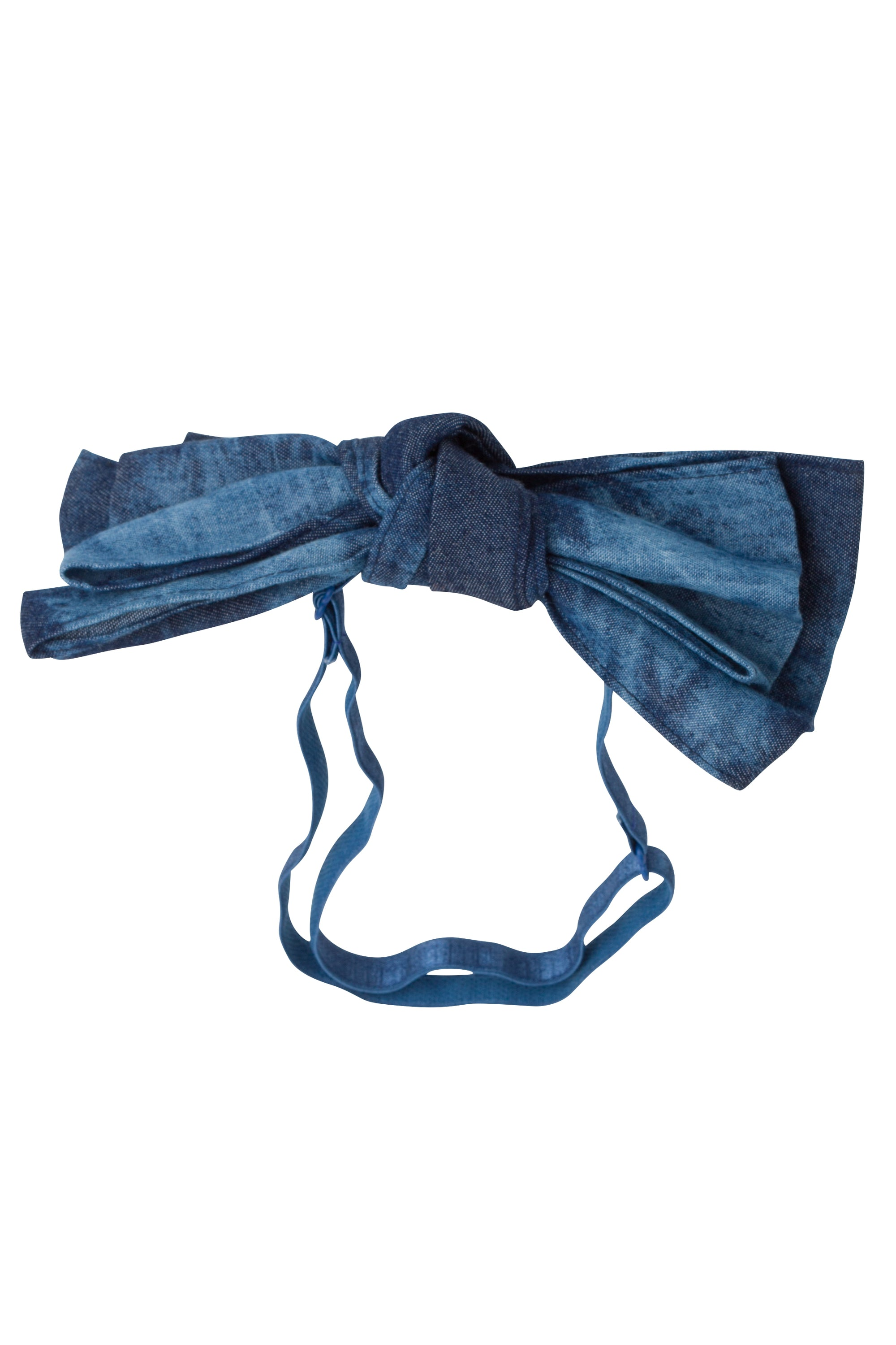 Floppy Denim Wrap - Invisible Tye Dye - PROJECT 6, modest fashion