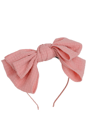 Floppy Muslin Headband - Pink - PROJECT 6, modest fashion