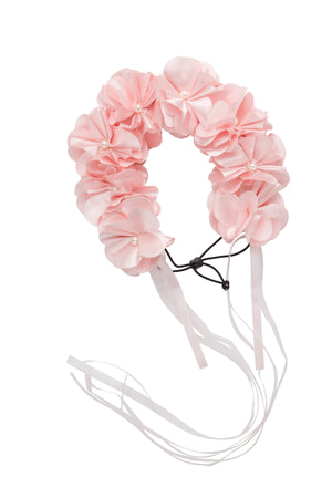 Floral Wreath Full - Baby Pink - PROJECT 6, modest fashion