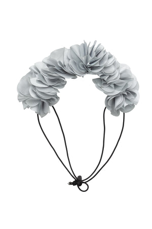 Floral Wreath Petit - Light Silver - PROJECT 6, modest fashion