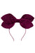 Growing Orchid Headband - Eggplant Velvet Stripe - PROJECT 6, modest fashion