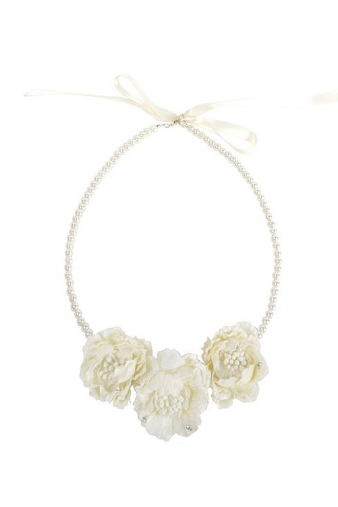 Hazel Necklace - Ivory - PROJECT 6, modest fashion