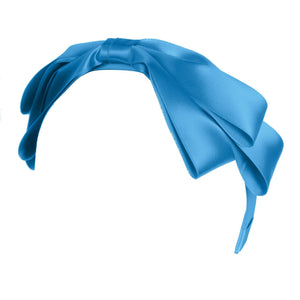 Heather Satin - Bright Blue - PROJECT 6, modest fashion