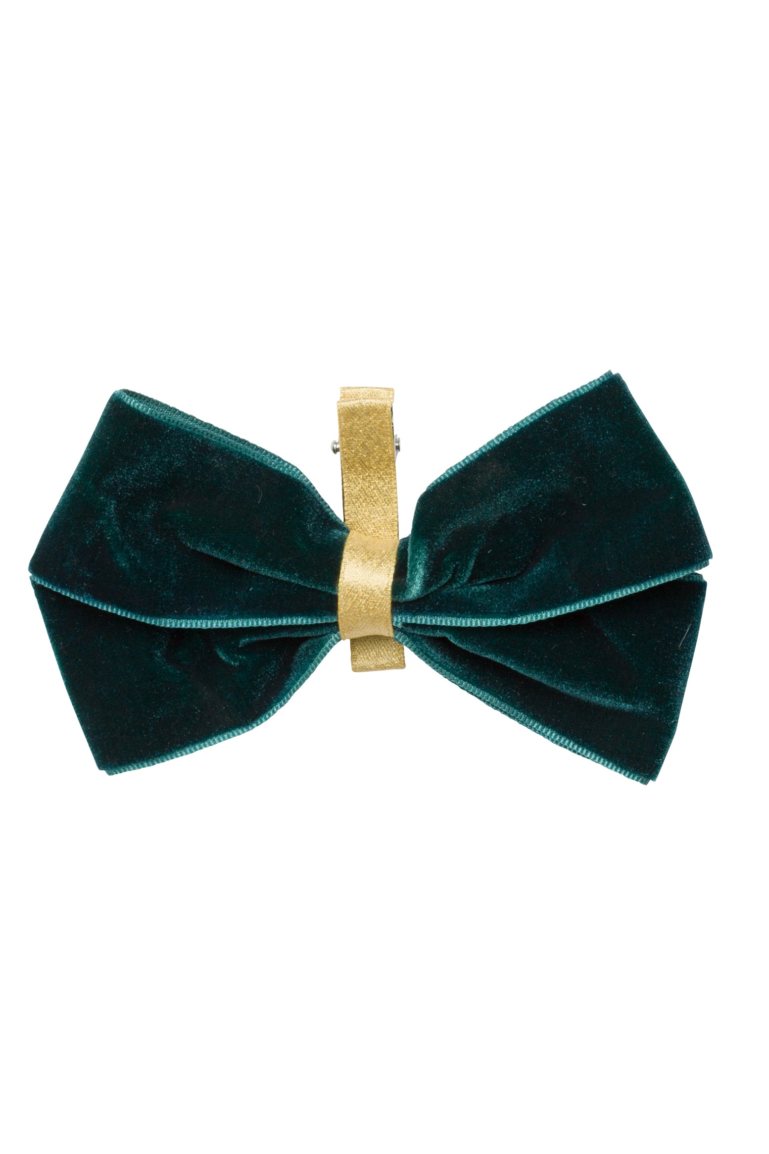 Heather Velvet Clip - Teal/Gold - PROJECT 6, modest fashion