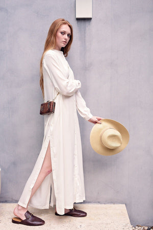 Hiro - Ivory Crepe - PROJECT 6, modest fashion