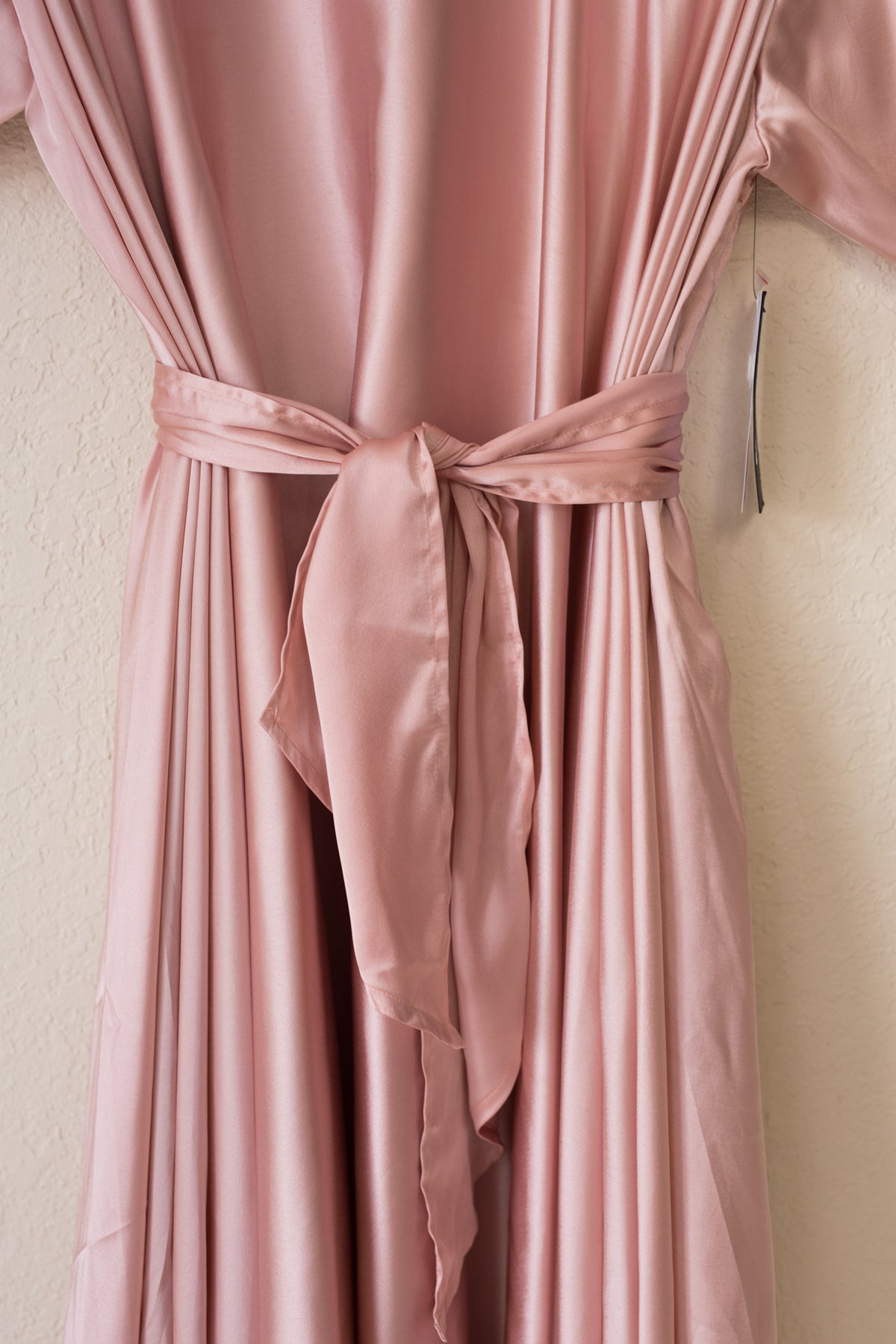Lilly Wrap - Blush Satin - PROJECT 6, modest fashion