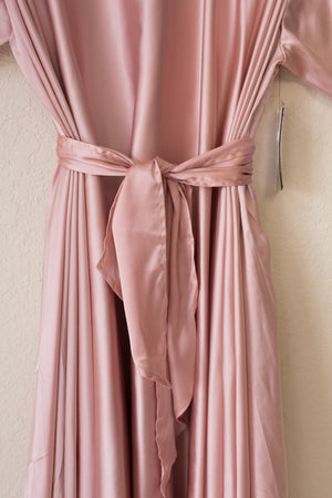 Lilly Wrap - Blush Satin