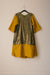 Nikki Dress - Green Shine/Gold Tussel Silk - PROJECT 6, modest fashion