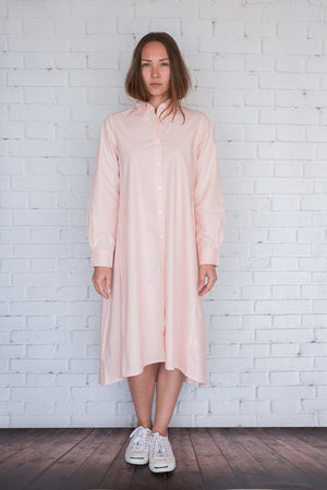 Maaya Medium - Light Peach Poplin - PROJECT 6, modest fashion