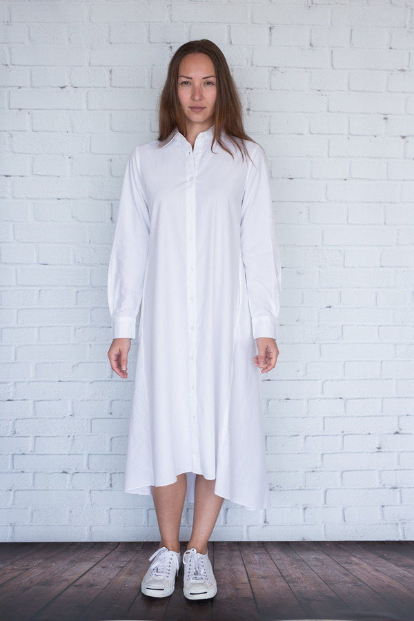 Maaya Medium - White Poplin - PROJECT 6, modest fashion