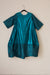 Nikki Dress - Turquoise Shine & Tussel Silk - PROJECT 6, modest fashion