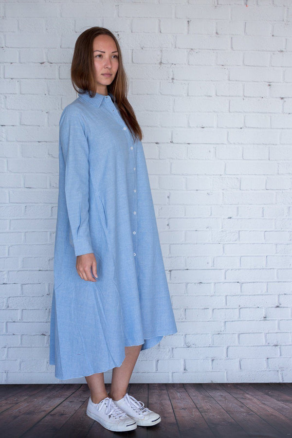 Maaya Medium - Chambray - PROJECT 6, modest fashion