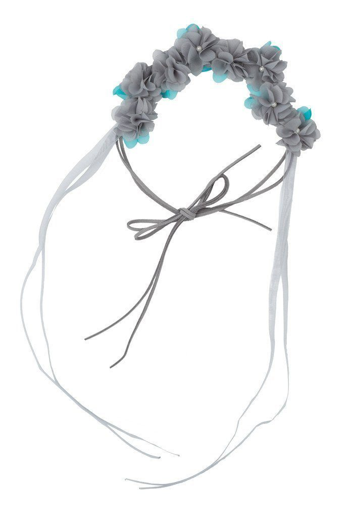 Natural Wrap - Grey/Turquoise