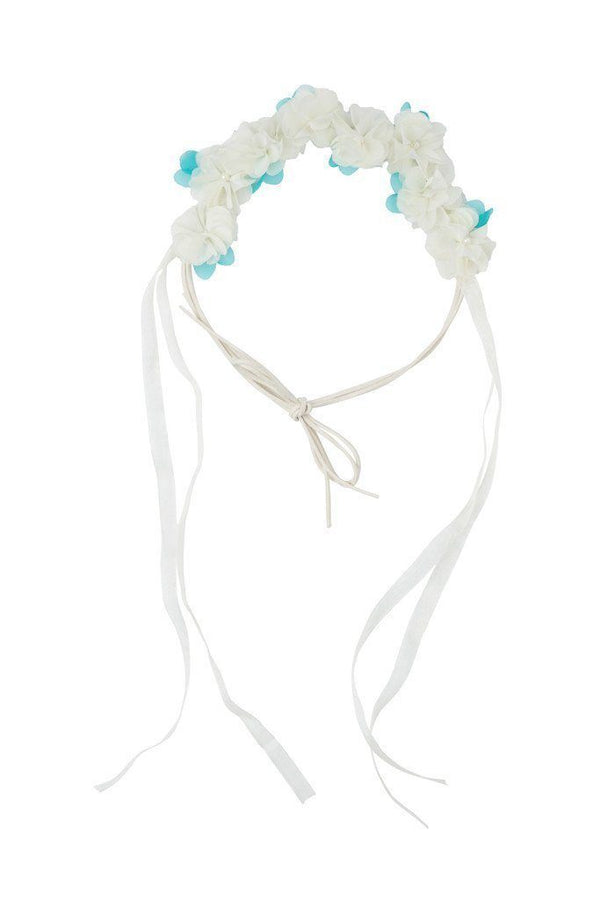 Natural Wrap - Cream/Turquoise - PROJECT 6, modest fashion