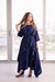 Momo Dress - Navy Crepe - PROJECT 6, modest fashion