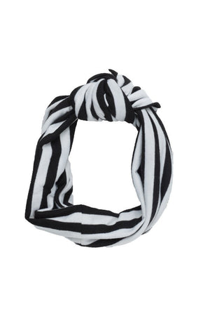 Knot Wrap - Black/White - PROJECT 6, modest fashion
