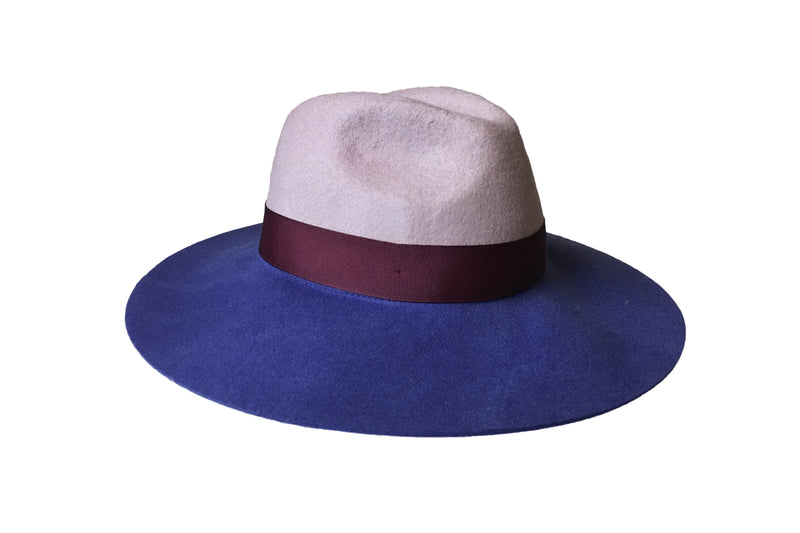 Nurit Hat - Blue/Nude - PROJECT 6, modest fashion