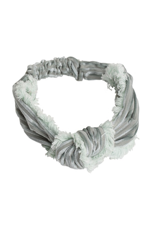 Knot Fringe Wrap - Mint Green - PROJECT 6, modest fashion
