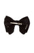 Beauty & The Beast Bowtie/Hair Clip - Black Velvet Stripe - PROJECT 6, modest fashion