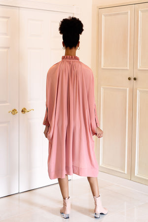Sache Dress - Rose Crepe