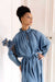 Sache Dress - Antique Blue Crepe