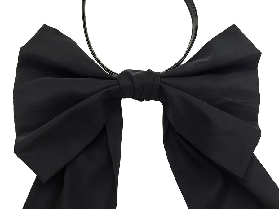 Amira - Black Taffeta - PROJECT 6, modest fashion