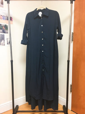 Maaya Long Length - Navy Crepe - PROJECT 6, modest fashion