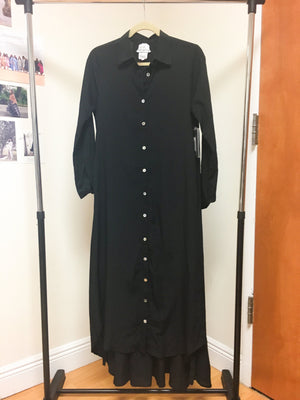 Maaya Long Length - Black Crepe - PROJECT 6, modest fashion