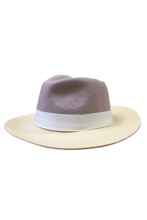 Nurit Hat - Ivory/Mauve - PROJECT 6, modest fashion