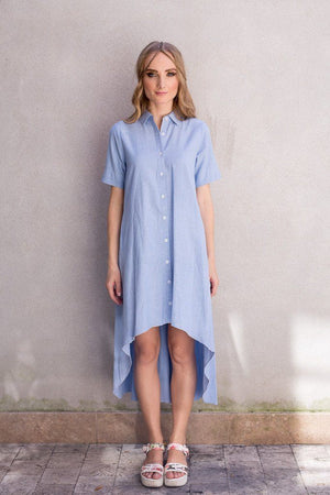 Hilo - Chambray - PROJECT 6, modest fashion