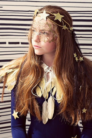 Etoile Wreath - Gold - PROJECT 6, modest fashion