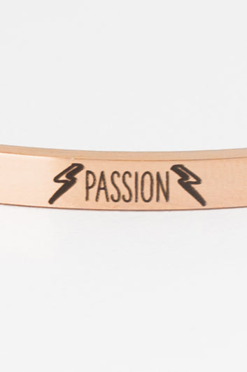 PASSION Bangle - Rose Gold