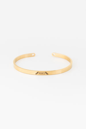 PROGRESS Bangle - Gold