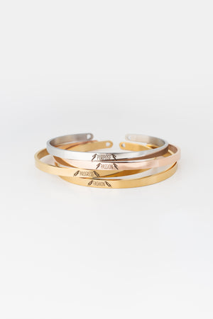 PURPOSE Bangle - Silver - PROJECT 6, modest fashion