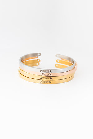 PASSION Bangle - Rose Gold - PROJECT 6, modest fashion