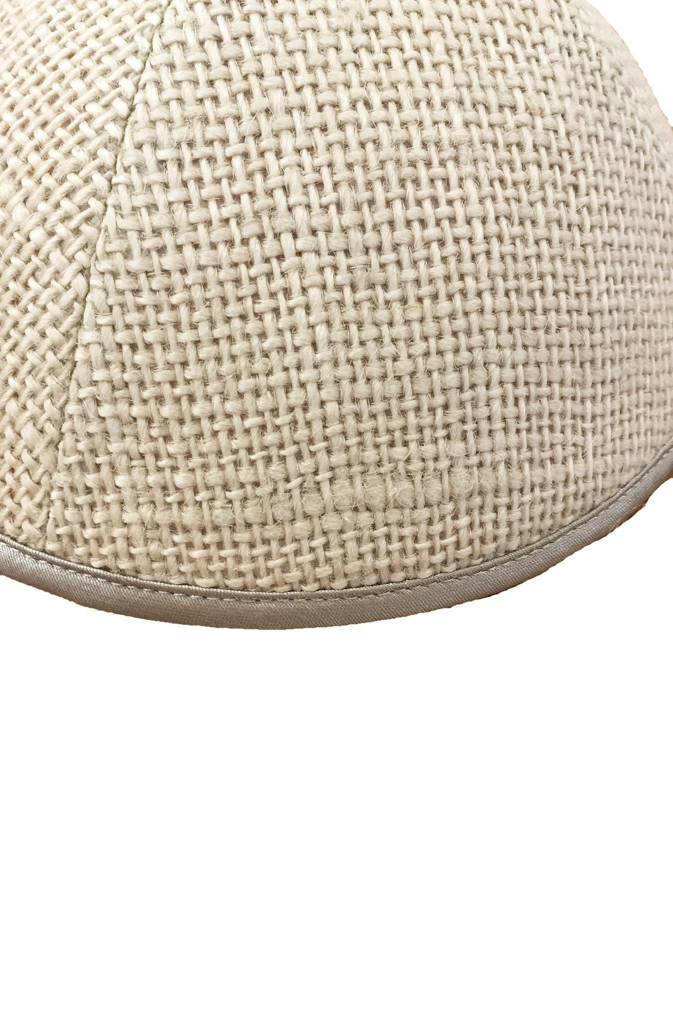 iKippah Size 5 - Tan Burlap - PROJECT 6, modest fashion